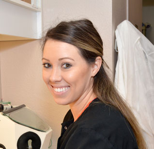 An actual dental team member to show that the conversations you have at this dentist in Poway can make a difference