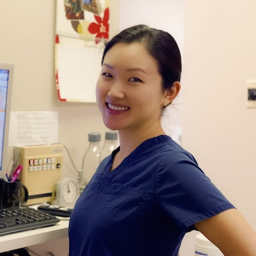 An actual dental team member to show that our smiling dental team makes a difference